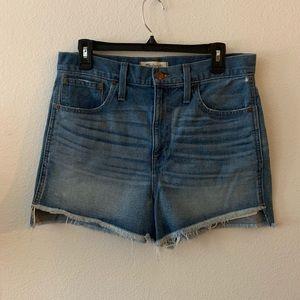 Madewell   High Rise Jean Shorts   29